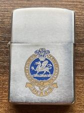 More details for zippo lighter 1983 queens regiment used british army