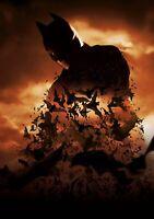 BATMAN BEGINS Movie PHOTO Print POSTER Film Christopher Nolan Bale Textless 007