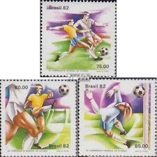 brésil 1873-1875 (complète edition) neuf avec gomme originale 1982 Football WM E