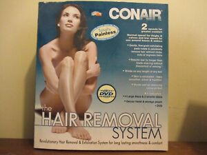 Conair THE HAIR REMOVAL SYSTEM Model HB5R Painless New in Box