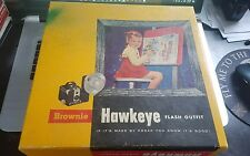 Vintage Kodak Camera Brownie Hawkeye Flash Outfit No.177L in Original Box