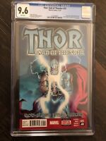 Thor God of Thunder #25 CGC 9.6 1st Jane Foster as Thor MCU