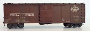 P&E NYC Steel Box Car BLI Broadway Limited HO Factory Assembled Custom 3849