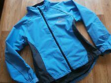 Womens Altura Cycling Jacket Lightweight Breathable Windbreaker Blue Size: UK 8