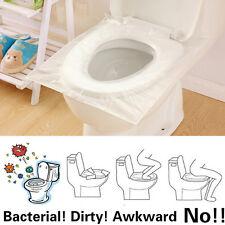 2 Bag 20pcs Travel Disposable Toilet Seat Cover Mat Waterproof Toilet Paper Pad