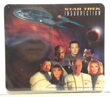 "Star Trek Insurrection Cast 9"" Mousepad from Italy- Unused- Free S&H (C6092)"