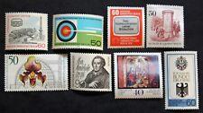 Sello BERLIN Stamp (ALEMANIA) - 8 sellos de 1979 n (Cyn27)