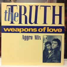 """NM 12""""~The TRUTH~Weapons Of Love (Aggro Mix)~[5:12]~Main~[3:24]~This Way Forever"""