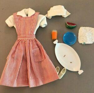 #889 Candy Striper Volunteer 1964 vintage Barbie doll outfit