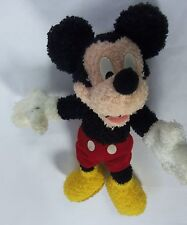 Disney Mickey Mouse Mattel Fisher Price Disney Plush Jointed 1999