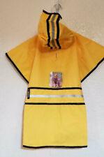 Fashion Pet Dog Raincoat, Dog Rain Jacket With Hood, Yellow, XL