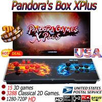 3303 in 1 Pandora's Box XPlus Retro Video Games Double Stick Arcade Console HOT