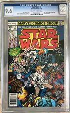 Star Wars #2 (1977) CGC 9.6 -- O/w-White pages; 1st Obi-Wan, Han Solo, Chewbacca