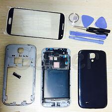 Full Housing Case + Screen Glass + Tool For Samsung Galaxy S4 Verizon I545 Black