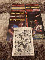 12 X JAZZ JOURNAL INTERNATIONAL MAGS VOL. 37 No. 1 -12 (JAN - DEC) 1984 + INDEX