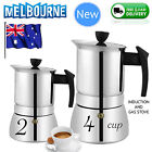 NEW 2 4 6 9 CUP BIALETTI MOKA Espresso Coffee Maker Percolator Perculator Stove