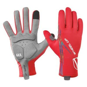 WHEEL UP Sports Cycling Gloves Full Finger Touch Screen Bicycle Gloves 4  Colors