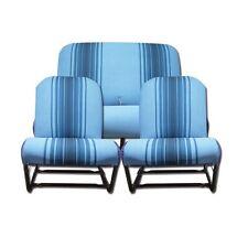 CITROEN 2CV 2 CV DYANE KIT FODERE SEDILI SET SEAT COVERS BLUE