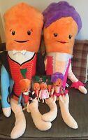 Kevin The Carrot Katie Carrot Aldi Xmas 2019 Plush Teddies Soft Toys Large Small