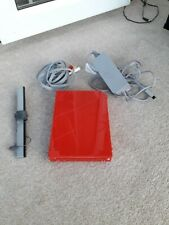 Limited Edition Red Nintendo Wii console. WORKING. PLEASE READ DESCRIPTION