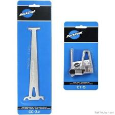 Park Tool CT-5 / CC-3.2 Bicycle Chain Breaker & Chain Wear Checker Combo / Set
