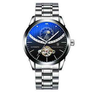 MENS STOCKWELL AUTOMATIC WATCH STAINLESS STEEL STRAP RRP £575
