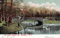 The Viaduct, Prospect Park, Brooklyn, New York, Early Postcard, Unused