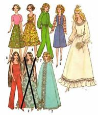 Doll Clothes Pattern 8281 Barbie Honey West Wonder Woman Annette Batgirl Stacey