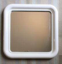 Miroir carré Anglais Hand Finshed vintage années 70