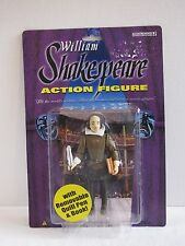 William Shakespeare Action Figure Toy With Quill Pen Book New NIP Macbeth Romeo