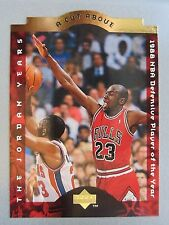 *Rare* 1996-97 Collector's Choice A Cut Above #CA4 Michael Jordan Defensive-POY