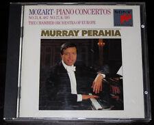 MURRAY PERAHIA Mozart PIANO CONCERTOS No. 21 & 27 EUROPE CHAMBER ORCHESTRA