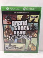 Grand Theft Auto San Andreas (Microsoft Xbox One & Xbox 360) Factory Sealed GTA