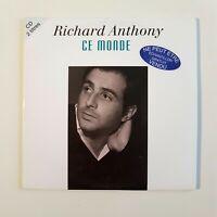RICHARD ANTHONY : CE MONDE /LET'S TWIST AGAIN ♦ CD RTL ♦