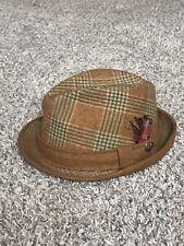 "Vintage DOBBS- JACK NICKLAUS ""Golden Bear"" Fedora Hat!  Size 7 1/4"