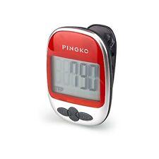 PINGKO Walking Pedometer Accurately Track Steps Portable Sport Pedometer Stepdi