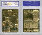 1996 BRETT FAVRE SUPERBOWL LIMITED SCULPTURED 23K GOLD CARD *GRADED GEM-MINT 10