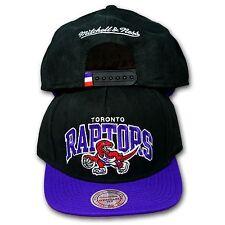 Original Mitchell & Ness Toronto Raptors Snapback NBA ARCHBUCK schwarz/lila