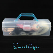"Takara 12"" Blythe carry box storage Transparent Factory Nude doll Custom part"