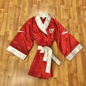 Everlast Men's Red Boxing Robe Size Small