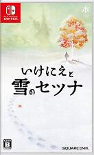 I am Setsuna of Snow IKENIE TO YUKI NO Japanese/English Nintendo Switch NEW