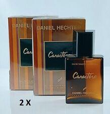 2 X Daniel Hechter Caractere 50 ml Eau de Toilette Spray = 100ml