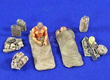 """Verlinden 1/35 """"Rise & Shine"""" US Soldiers Waking Up Vietnam War (2 Figures) 2792"""
