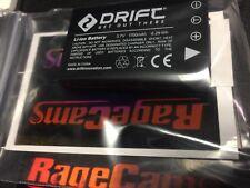Drift HD HD170 STEALTH MINI LLBAT Standard Camera Battery LI-ION 1700ma 1700mah