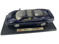 Maisto 1992 Jaguar XJ220 1/18 Scale Die Cast Model Car - Dark Blue