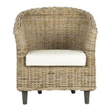 Safavieh Wicker Living Room Contemporary Chairs