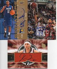 UCONN Connecticut Autograph BASKETBALL Lot BOONE Marshall PRICE Auto SIGNED