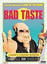 Bad Taste 2001 -Anchor Bay DVD- OOP/Rare- Mint-with Insert-Peter Jackson Cu