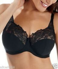 PANACHE Melody Full Cup Underwire Bra 6055 Black 36G New  Fast Ship NWT