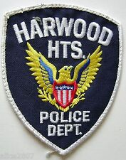 Harwood Heights Police Department, Illinois, Shoulder P